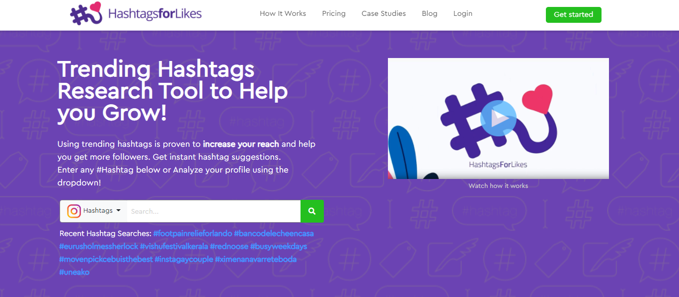 Hashtags for Likes - best hashtag generator tool