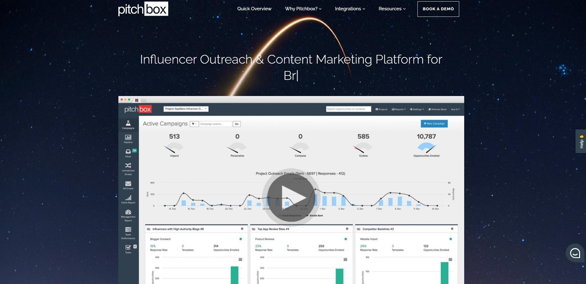pitchbox - Influencer Marketing Tools