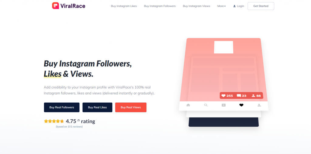 Viral Race-Instagram Growth Services