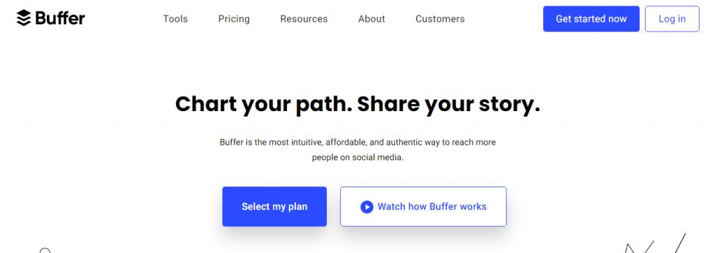 Buffer - twitter management tools