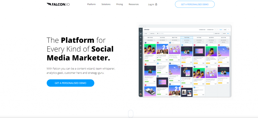 Falcon -Instagram Scheduling Tool